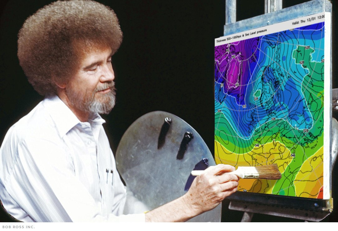 Would Bob Ross Approve?